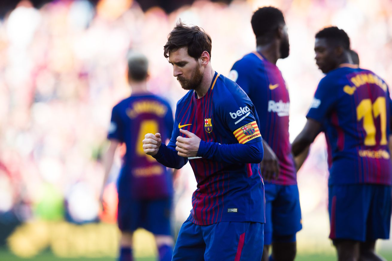 WATCH: Messi celebrate scoring in some style