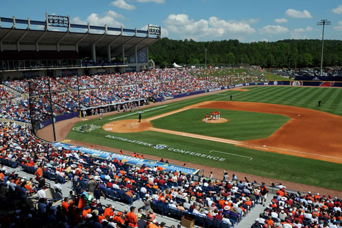 """One of the most fun weeks of the year is upon us, the SEC baseball tournament week (via <a href=""""http://www.secdigitalnetwork.com/Portals/3/images/Resized/Baseball/RegionsPark2.jpg"""">www.secdigitalnetwork.com</a>)"""