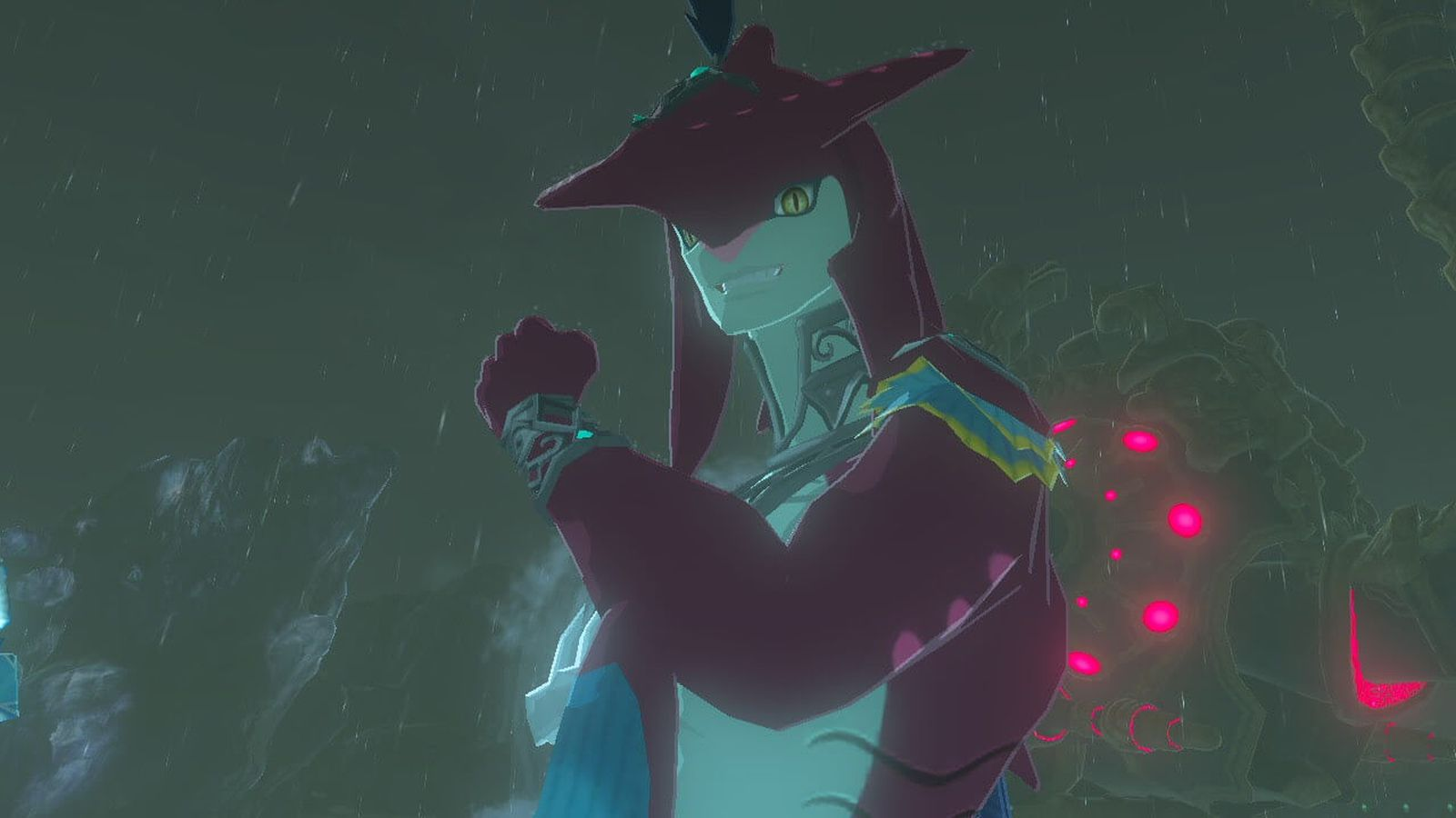 In Breath Of The Wild Everyone Just Wants To Kiss A Zora Polygon