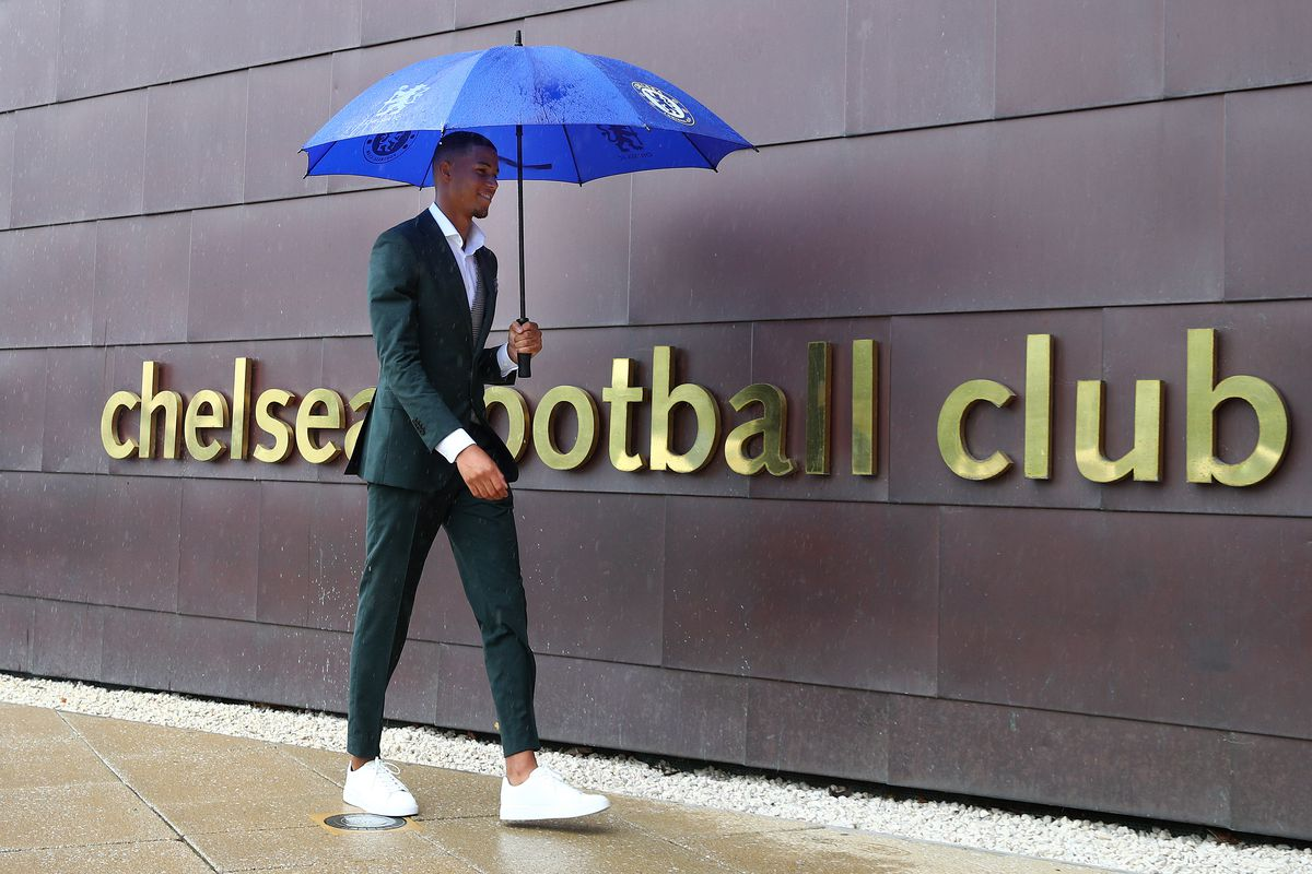 Chelsea FC Unveil New Signing Xavier Mbuyamba