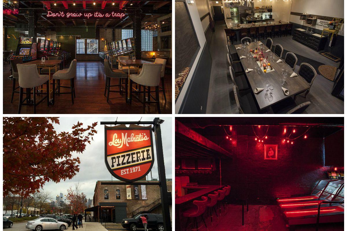 Headquarters River North, 42 Grams, Lou Malnatti's Pizzeria, Slippery Slope