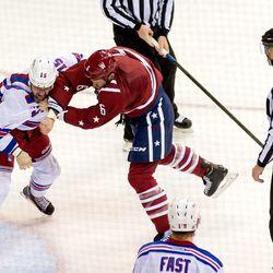 Gleason and Glass Fight
