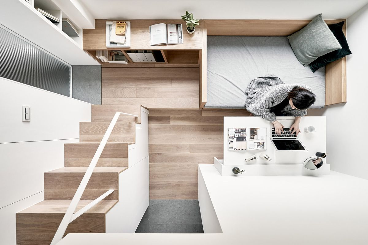 Small apartment ideas abound in this clever design - Curbed