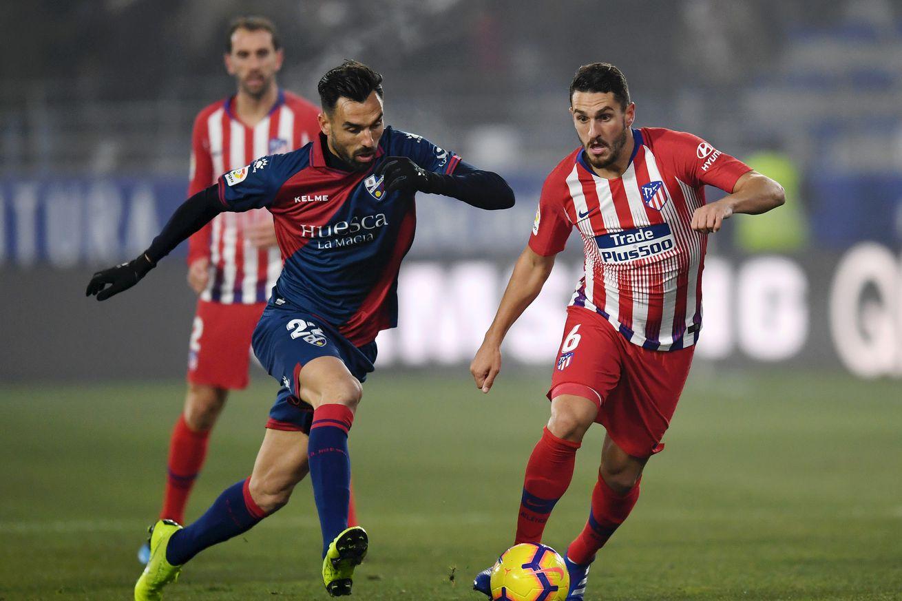 Koke, Saúl and Diego Godín could all return for the Madrid Derby