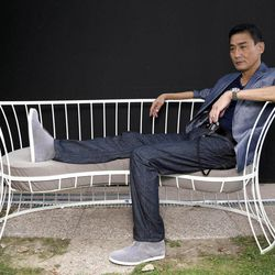 FILE - Actor Tony Leung Ka-Fai, poses for portraits for the film 'Tai Chi 0' at the 69th edition of the Venice Film Festival in Venice, Italy, in this file photo dated Thursday, Aug. 30, 2012.   Tony Leung Ka Fai, known for his roles in such auteur films as ''The Lover,'' plays the village tai chi master, whose job it is to defend the town from the modern intruder while protecting the village's martial arts tradition, in this movie which incorporated comic book-style graphic and heavy metal music.