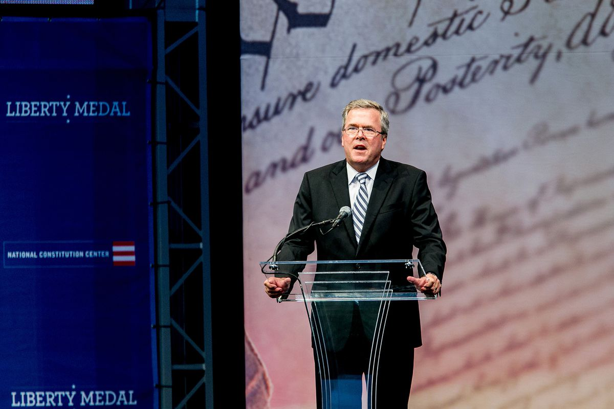 In the Republican Party, it's Jeb Bush versus everyone else on Common Core.