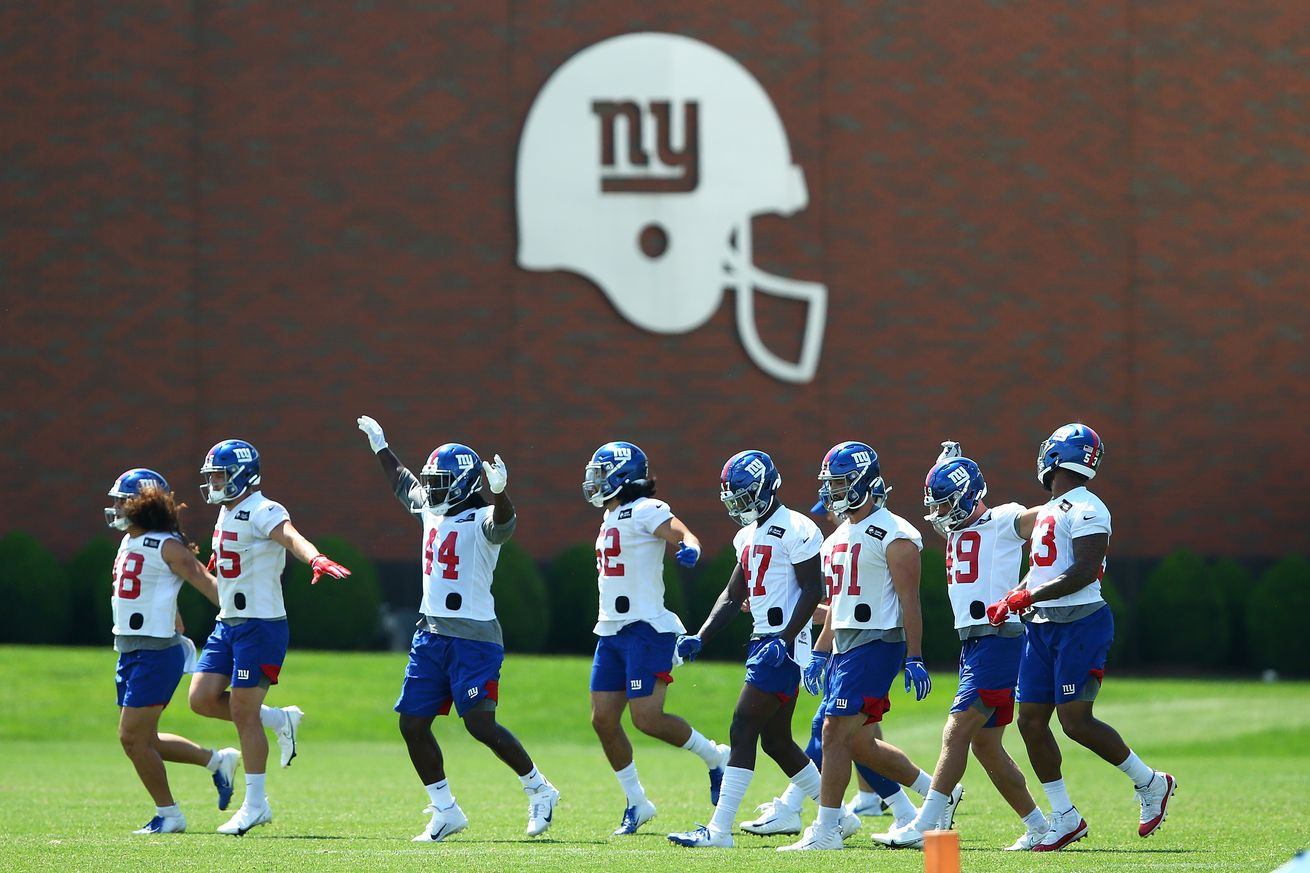 New York Giants Training Camp