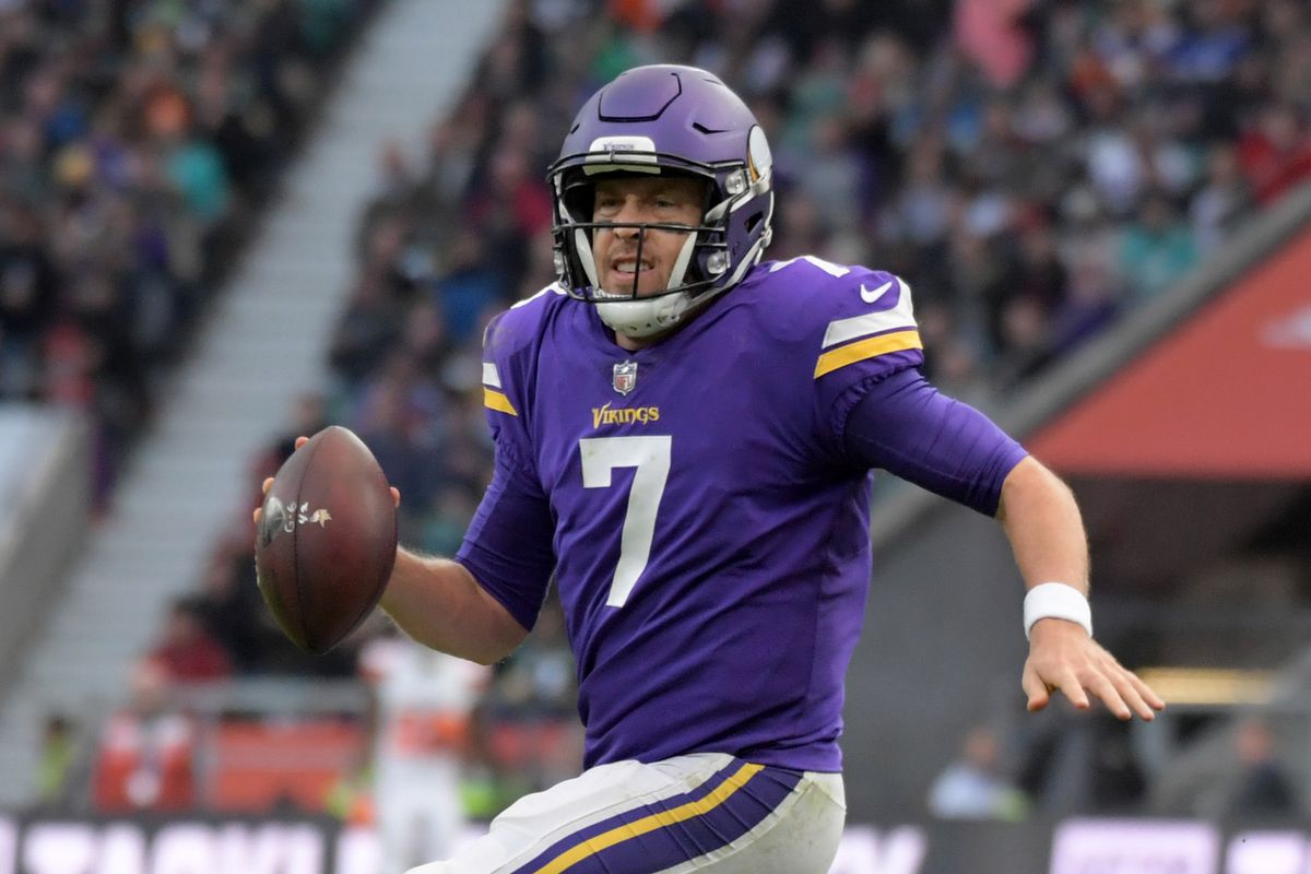 brand new 2f8ae 0f593 The mediocrity of Case Keenum - Daily Norseman