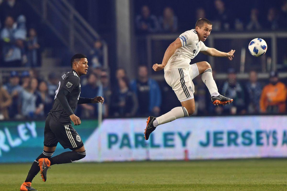 MLS: Vancouver Whitecaps at Sporting KC