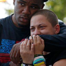 Marjory Stoneman Douglas High School shooting survivor Emma Gonzalez | Jim Young/Getty Images