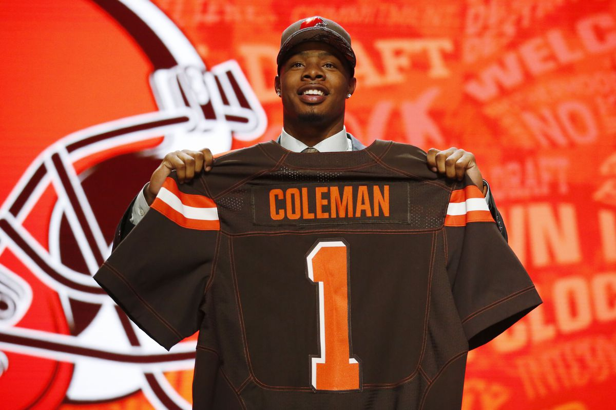 Cleveland Browns sign 1st round draft pick, WR Corey Coleman - Dawgs By  Nature
