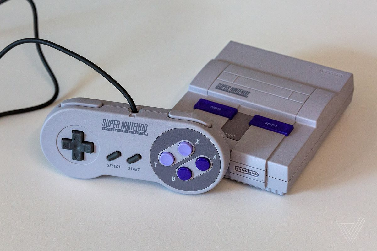 nintendo s snes classic will be available at toys r us stores friday morning the verge. Black Bedroom Furniture Sets. Home Design Ideas