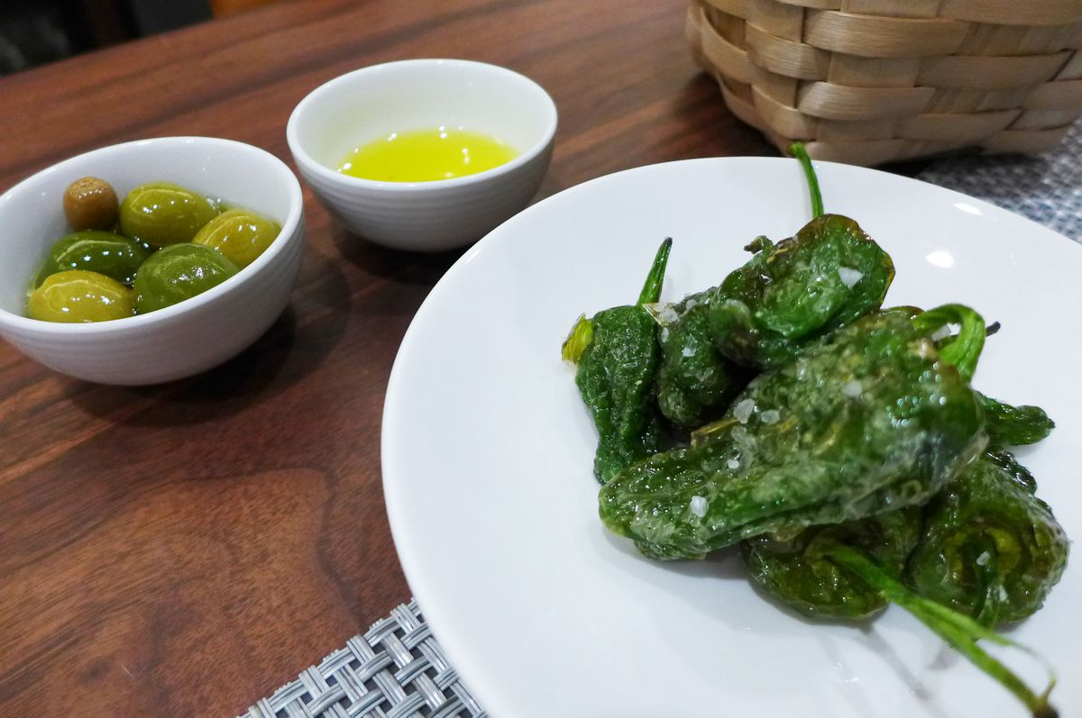 Tomiño padron peppers