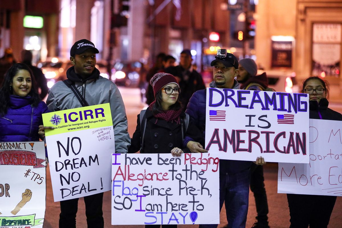 'Dreamers' protest in Chicago