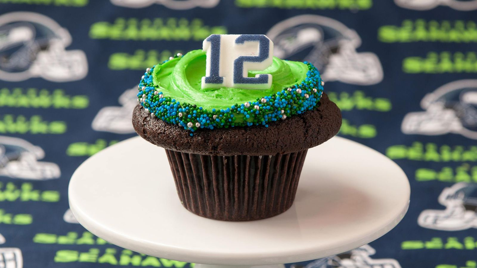 12th Fan Cupcakes On Game Day Seahawks Food And Drink