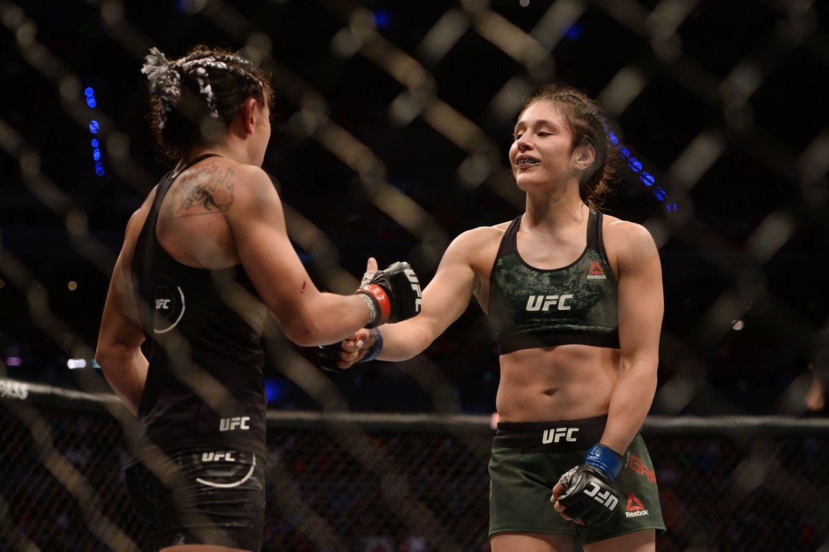 MMA: UFC Fight Night-Mexico City-Esparza vs Grasso