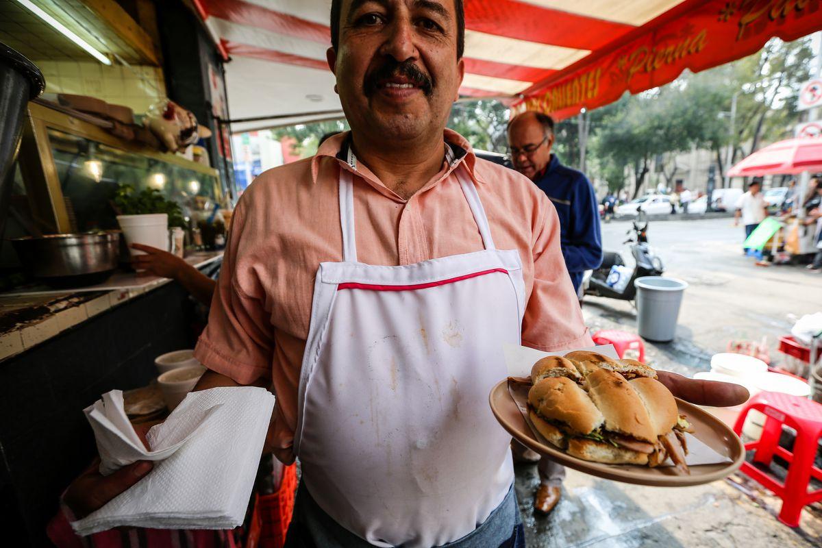 Mexico City torta