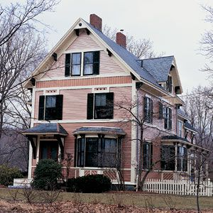 <p>When a paint job costs $40,000-as it did on the 5,529-square-foot Victorian in Concord, Massachusetts-you just pray it lasts. The walls and trim were scraped to bare wood, primed and coated with two layers of oil paint imported from Europe.</p>
