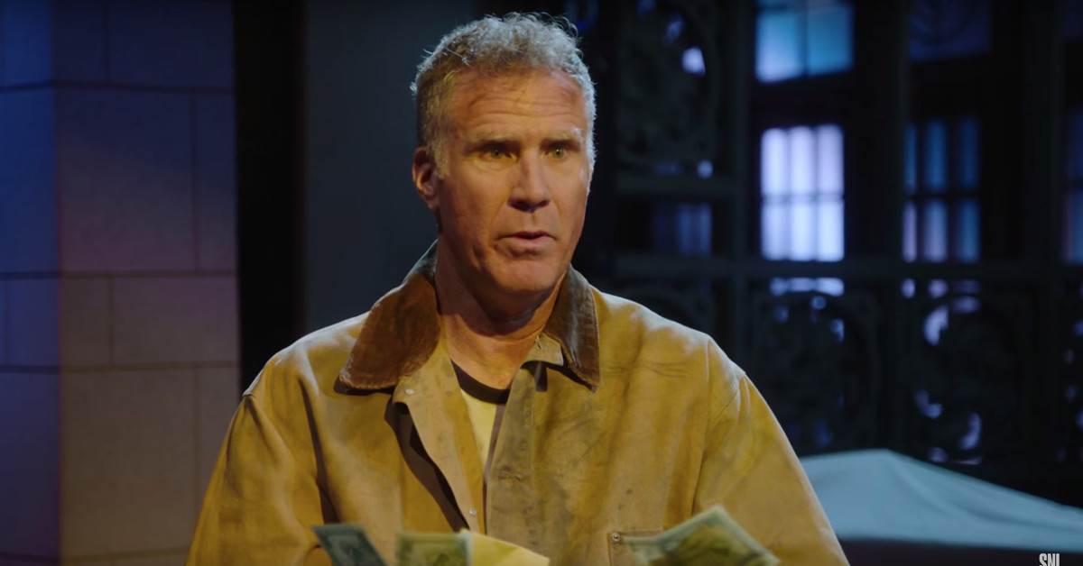 Will Ferrell's Getting Ready For SNL By Doing Some Digging