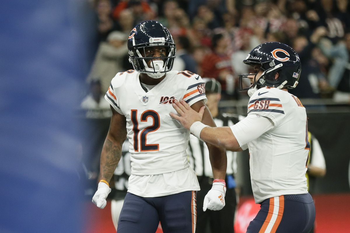 Allen Robinson carried the Bears' passing game last season with 1,147 yards and seven touchdowns on 98 catches.