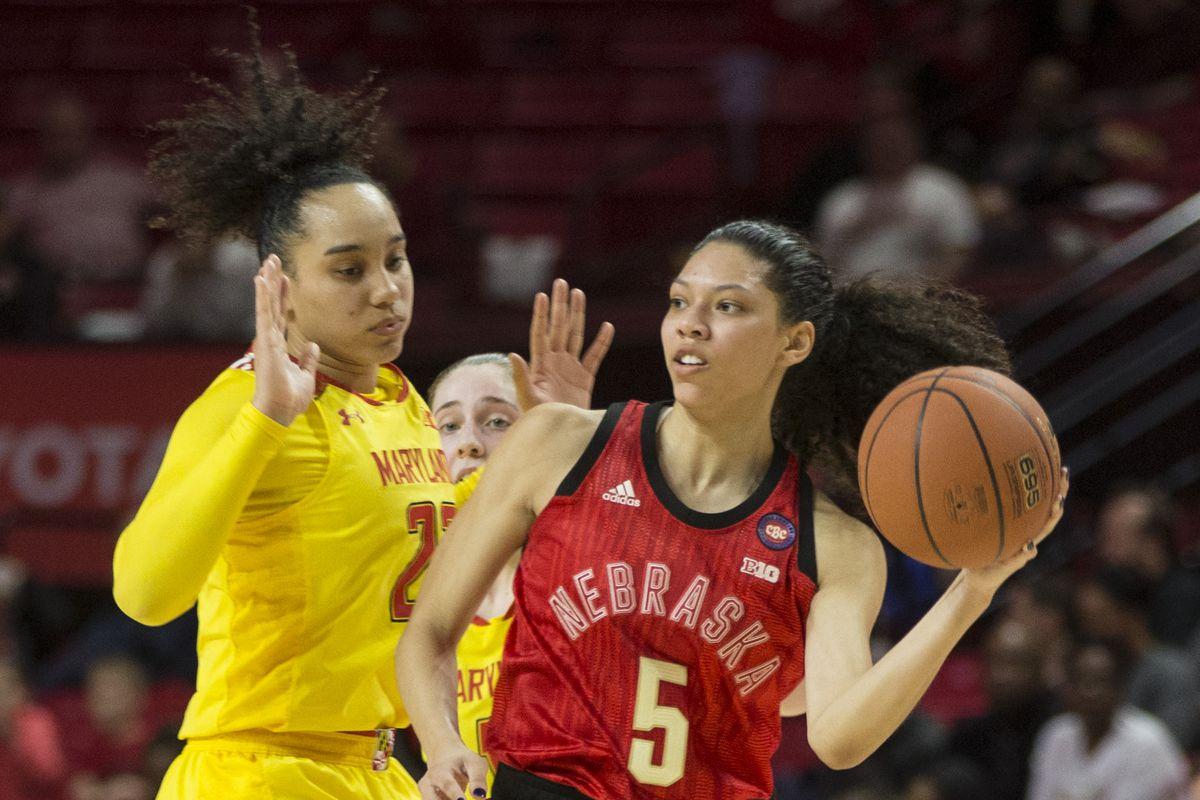 COLLEGE BASKETBALL: FEB 14 Women's Nebraska at Maryland