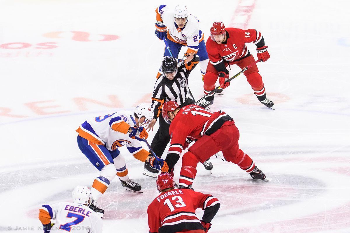Carolina Hurricanes Vs New York Islanders Game 1 Preview