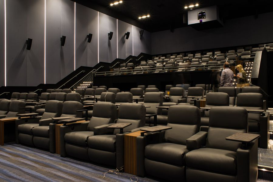 Preview The Lot Luxury Cinema Before It Debuts In Liberty
