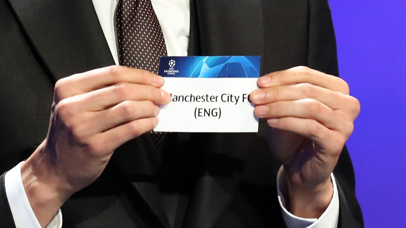 Who Might Manchester City Face In The Uefa Champions League
