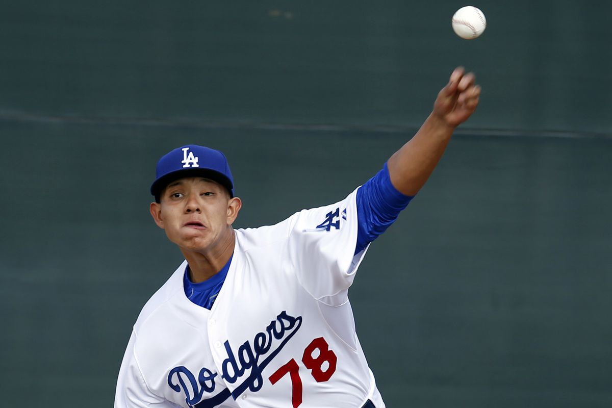 Dodgers southpaw Julio Urias was utterly dominant in his second AA start at the tender age of 18.