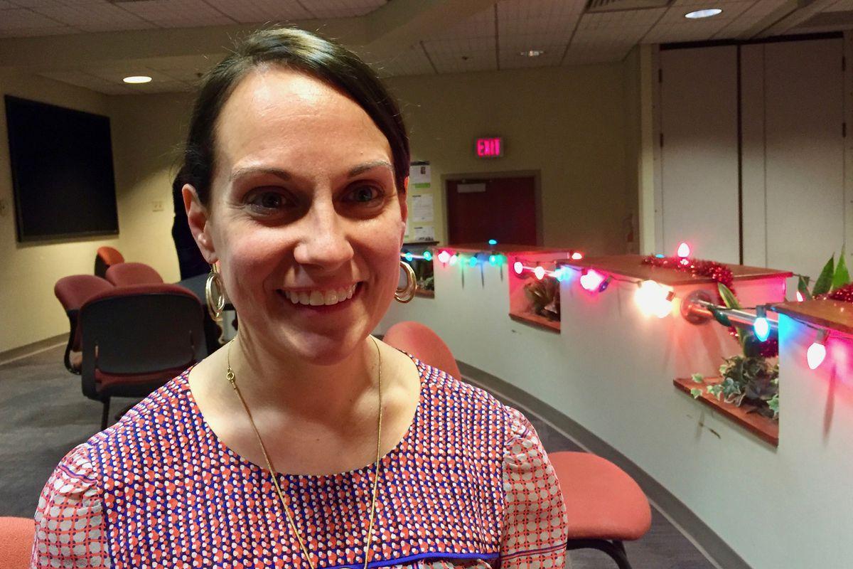 Melissa Scherle is a second-grade teacher at IPS School 14.