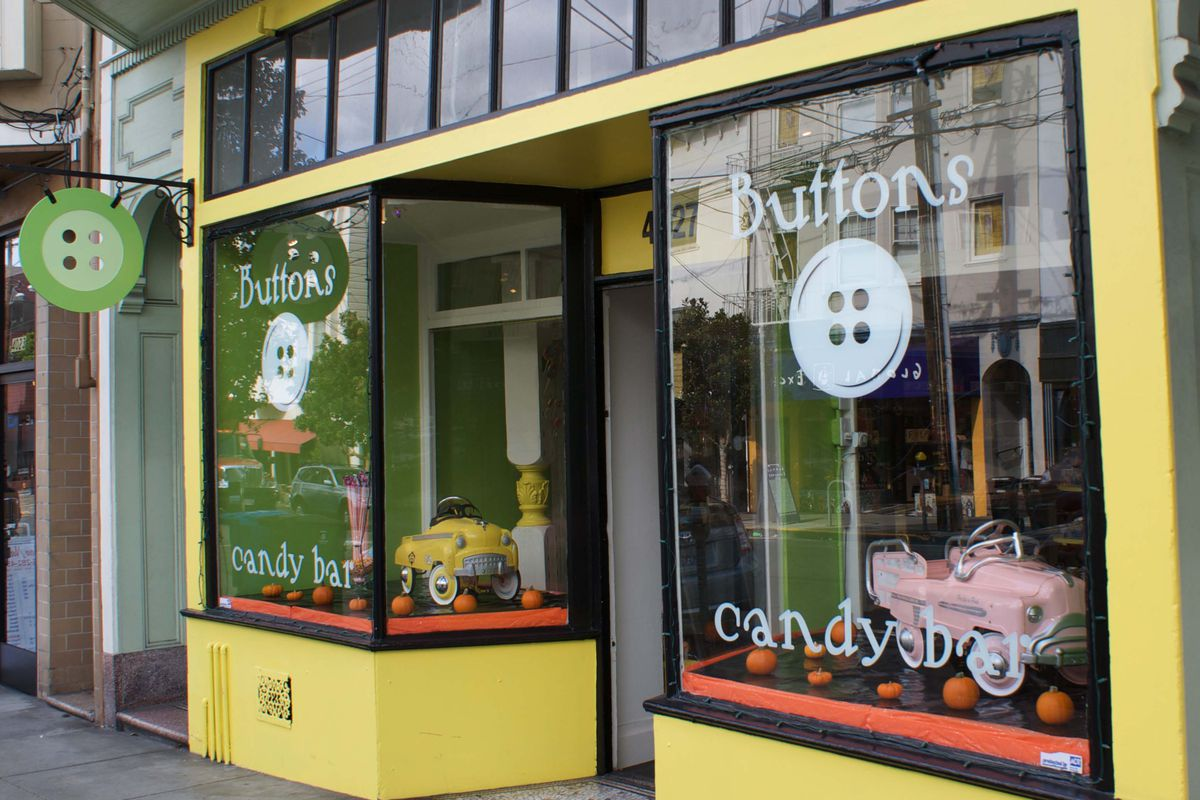<strong>Buttons Candy Bar</strong> on 24th Street is cute as a...