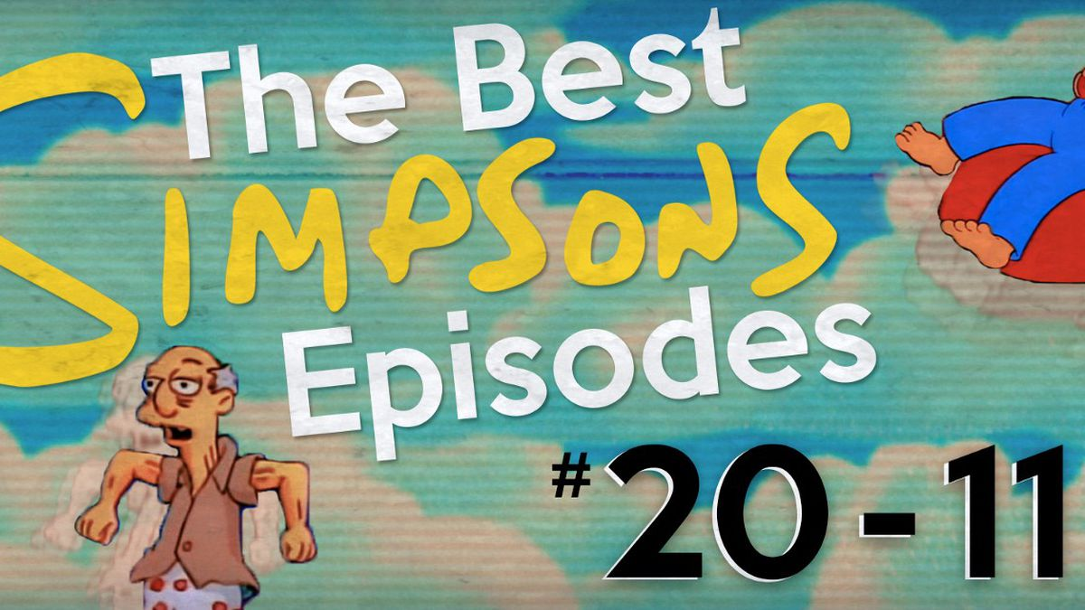 The Best 'Simpsons' Episodes #20-11 - The Ringer