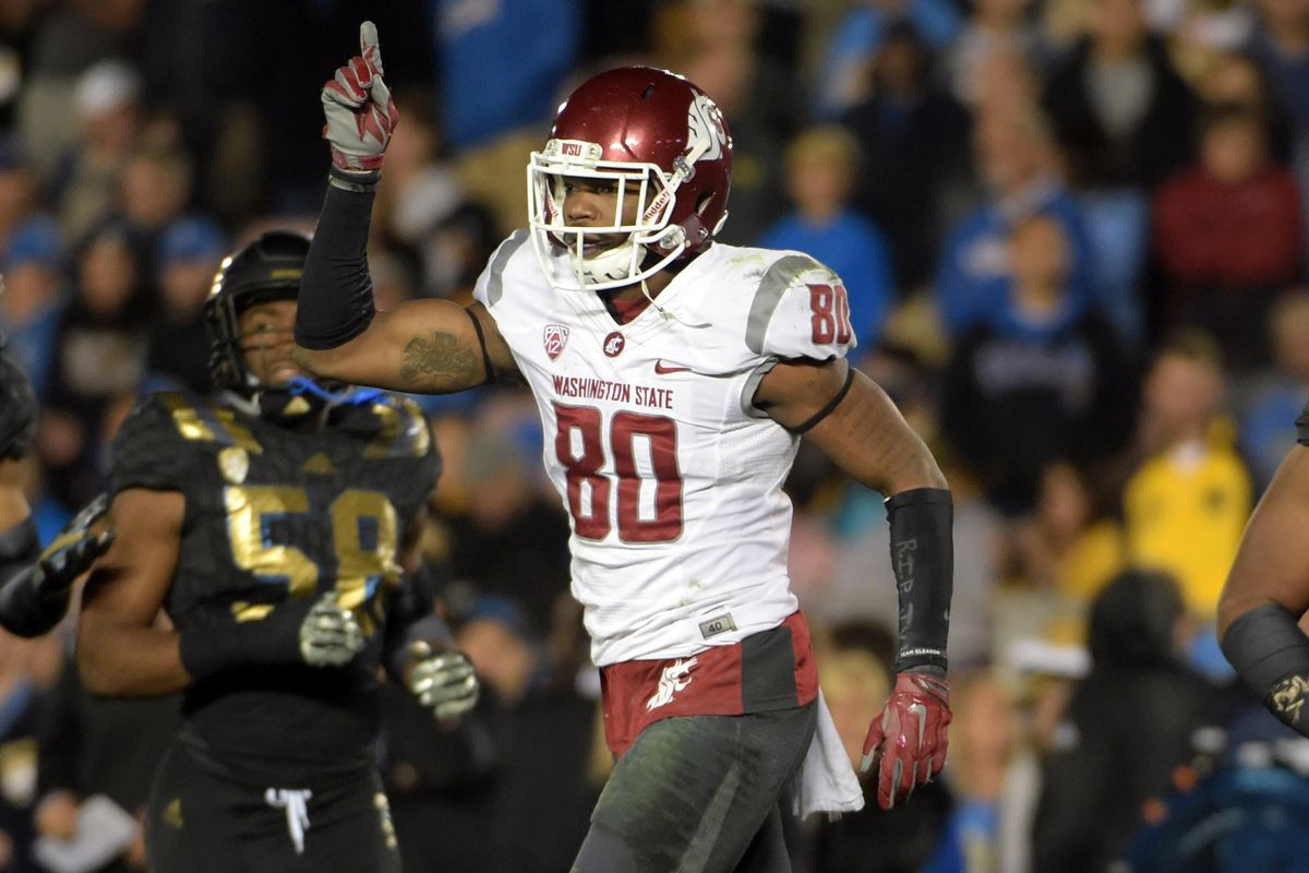 Redshirt senior wide receiver Dom Williams will play at Martin Stadium for the last time today against the Buffs.