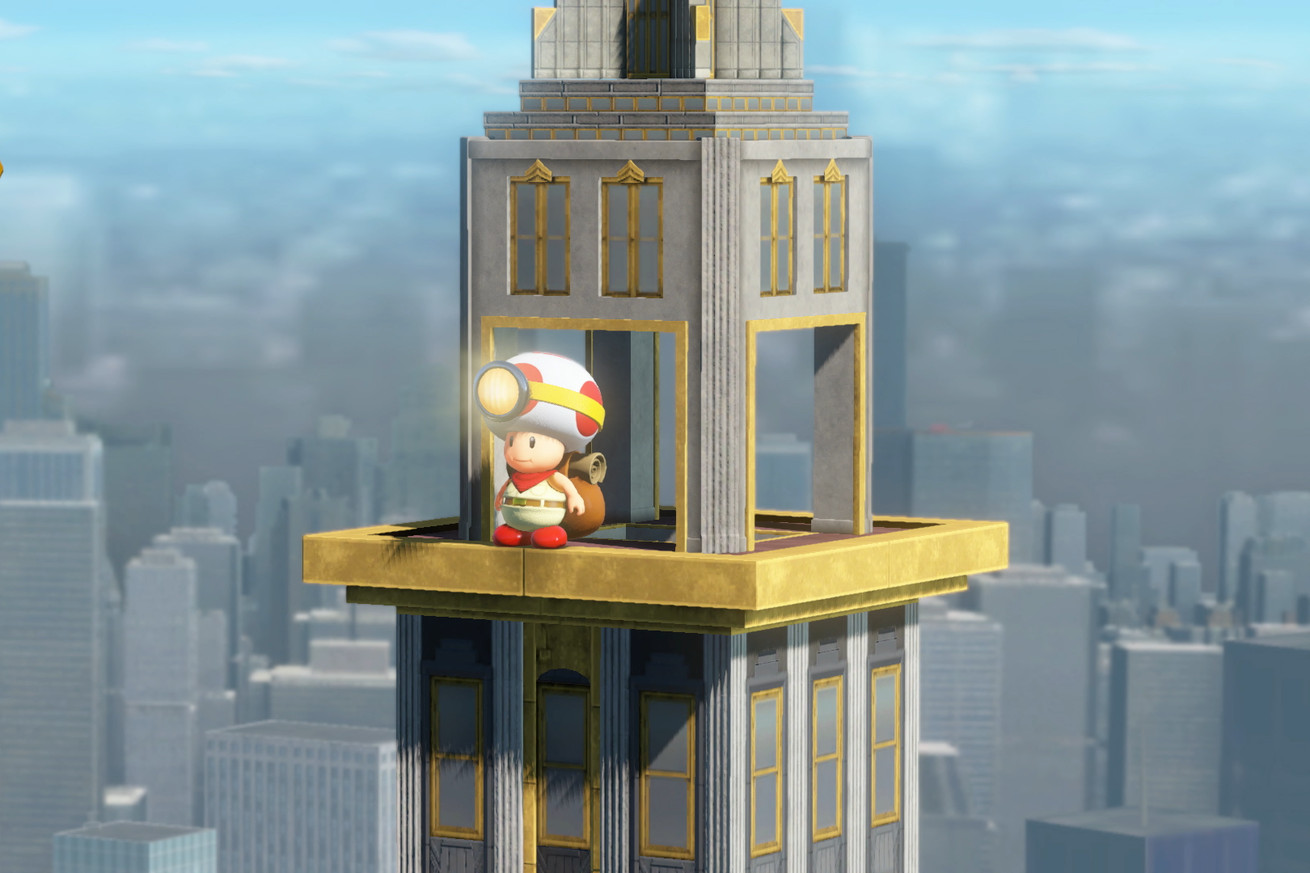if you own a nintendo switch you need to play captain toad