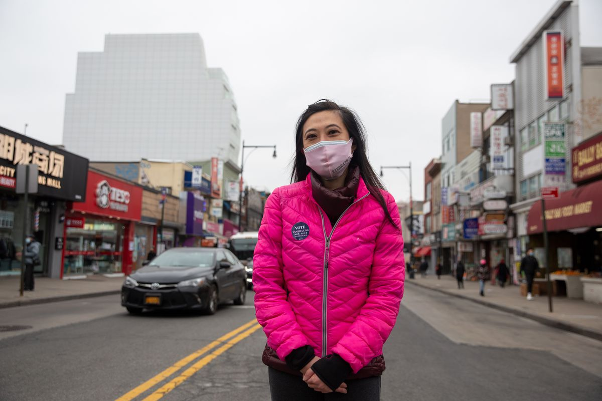Sandra Ung is running for City Council in Queens.