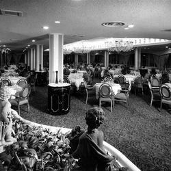 Hotel Utah Sky Room in 1961.
