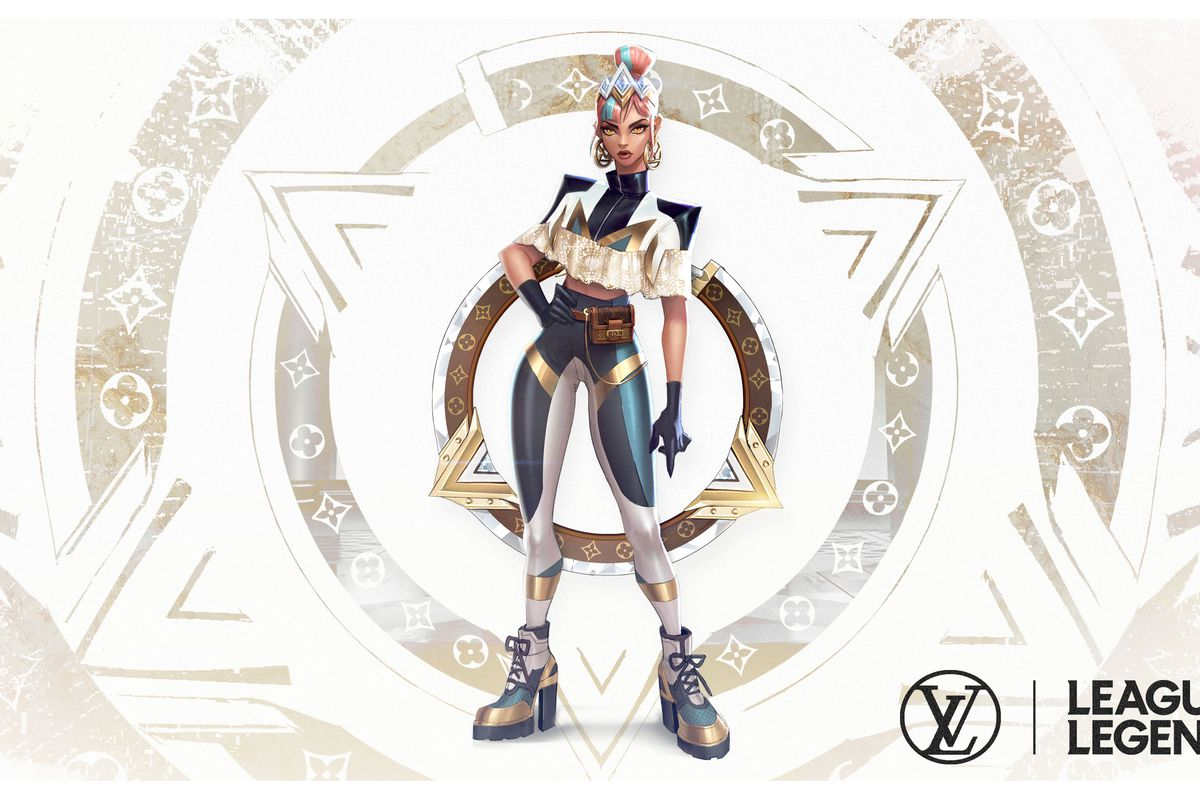 League Of Legends New Hip Hop Group Has Outfits Designed By Louis Vuitton The Verge
