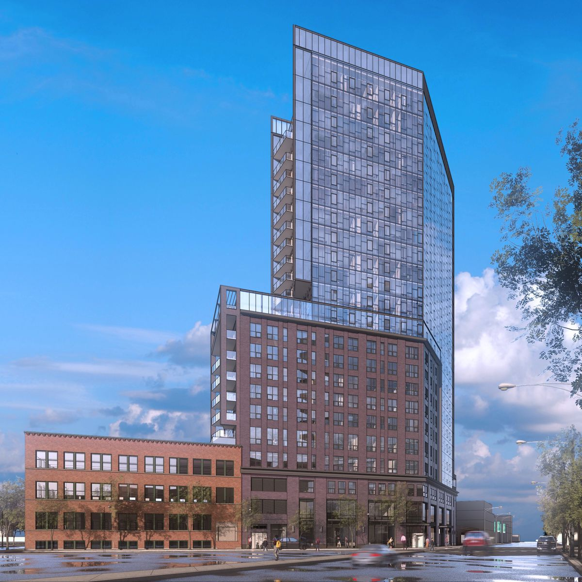 New Apartment Buildings Chicago: New Apartment Building Takes Title Of River West's Tallest