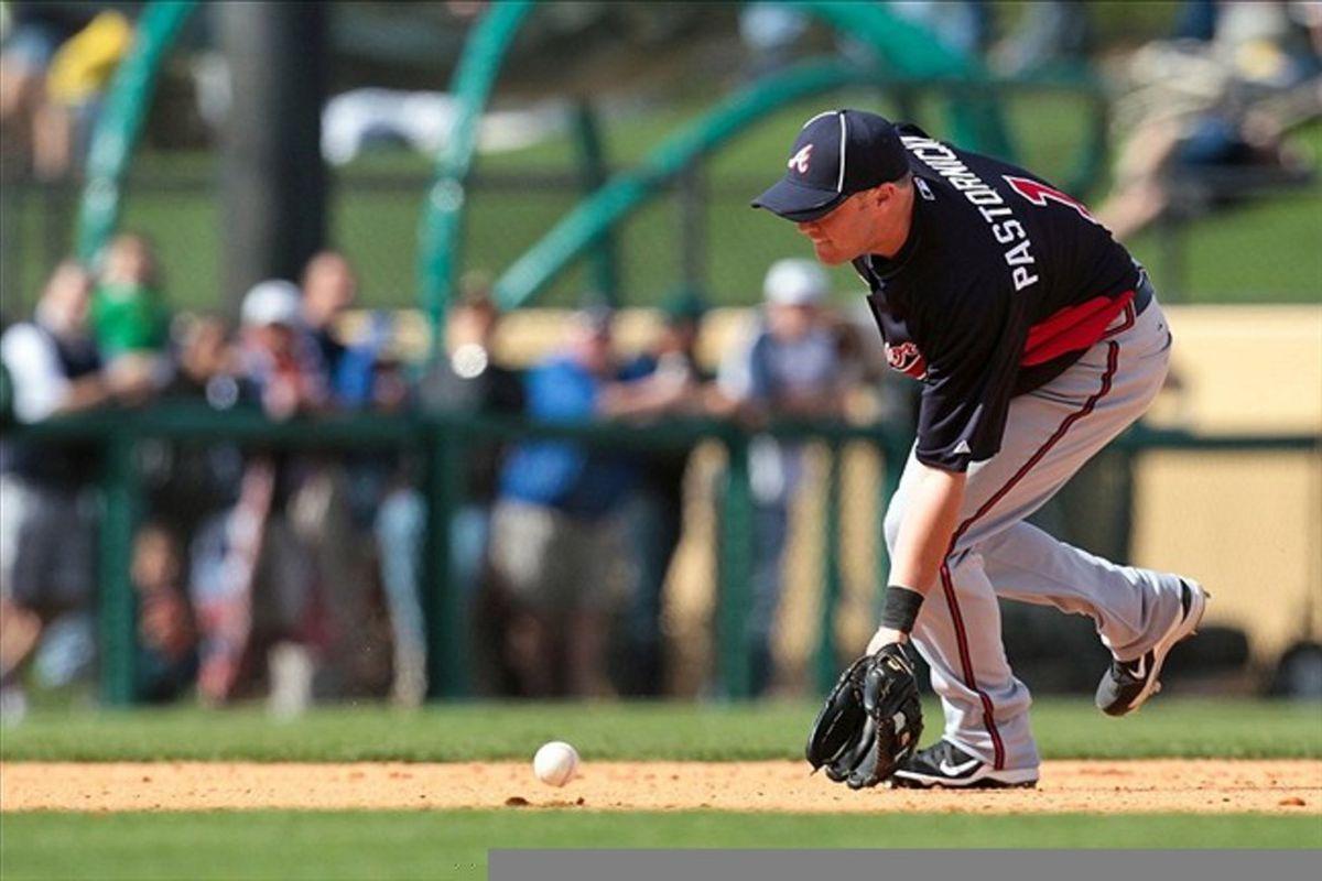 Prospect of the Day: Tyler Pastornicky, SS, Atlanta Braves ...