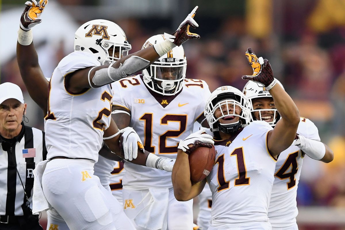 Minnesota Football S 2019 Projected Defensive Depth Chart