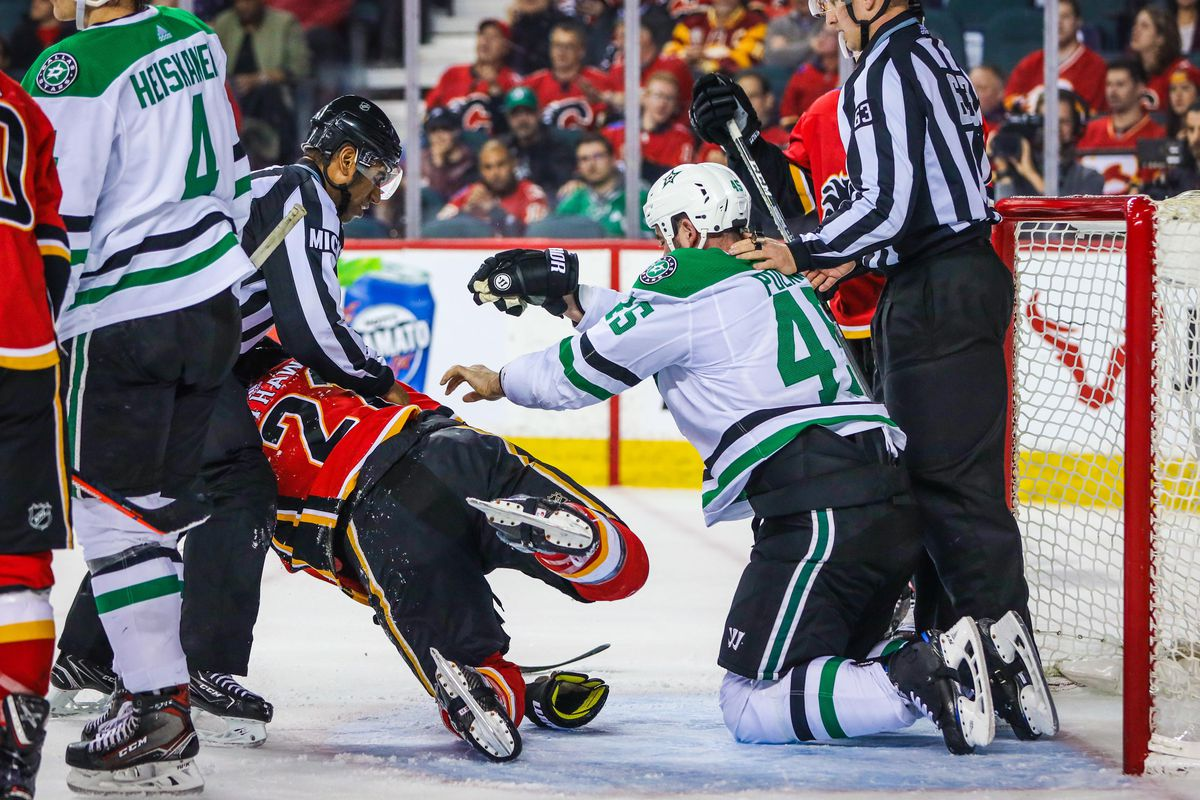 Stars' Short Homestand Starts with Flames