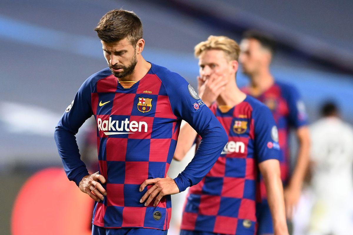 Gerard Pique, Barcelona v Bayern Munich - UEFA Champions League Quarter Final