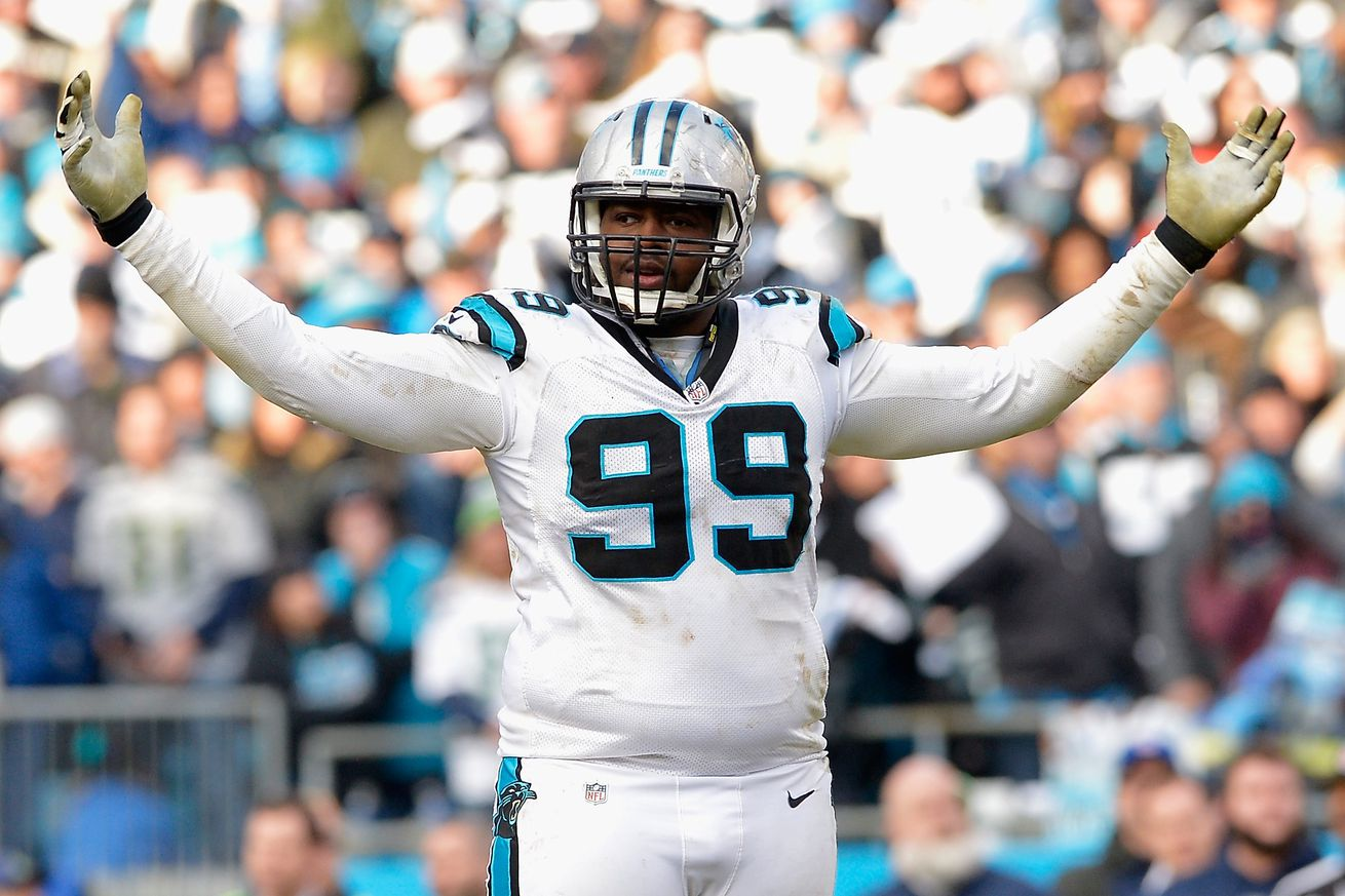 Kawann Short IN for Panthers, Terron Armstead OUT for Saints