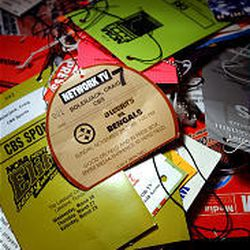 Craig Bolerjack has saved most of his press passes from the past ten years. He has sat in most NFL and major college press boxes.