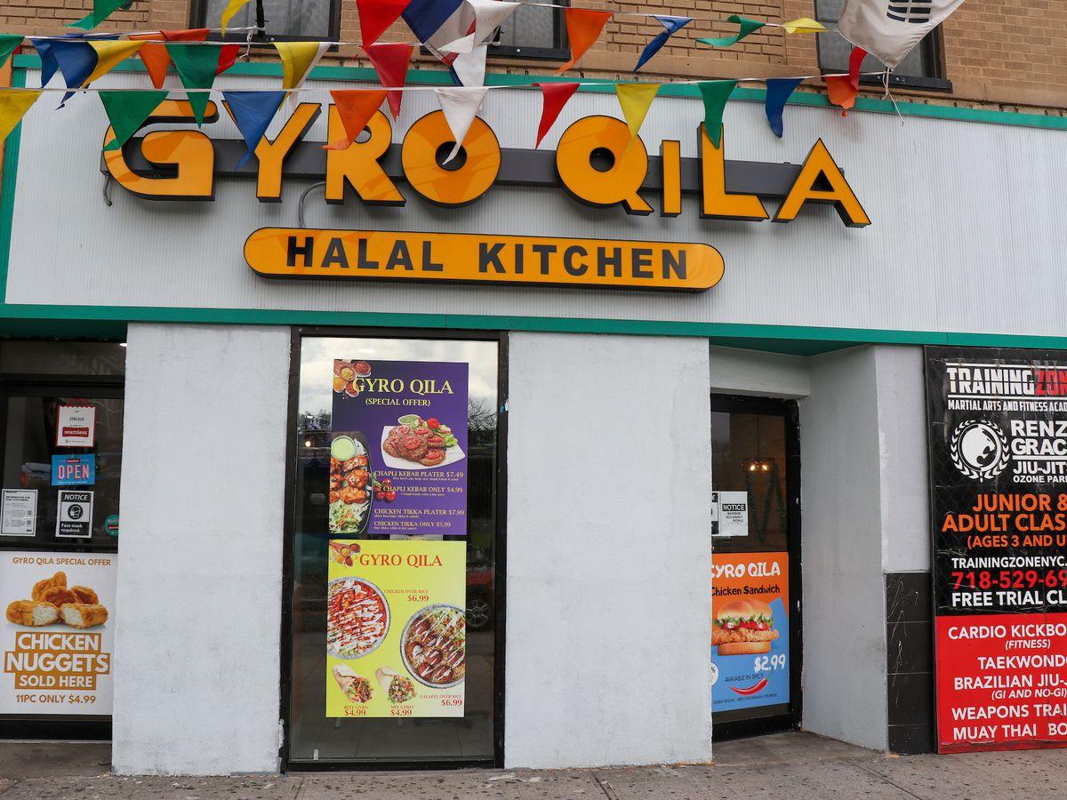 Gyro Qila storefront