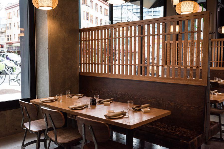 New Bamboo Sushi West End Interior Revealed - Eater Portland