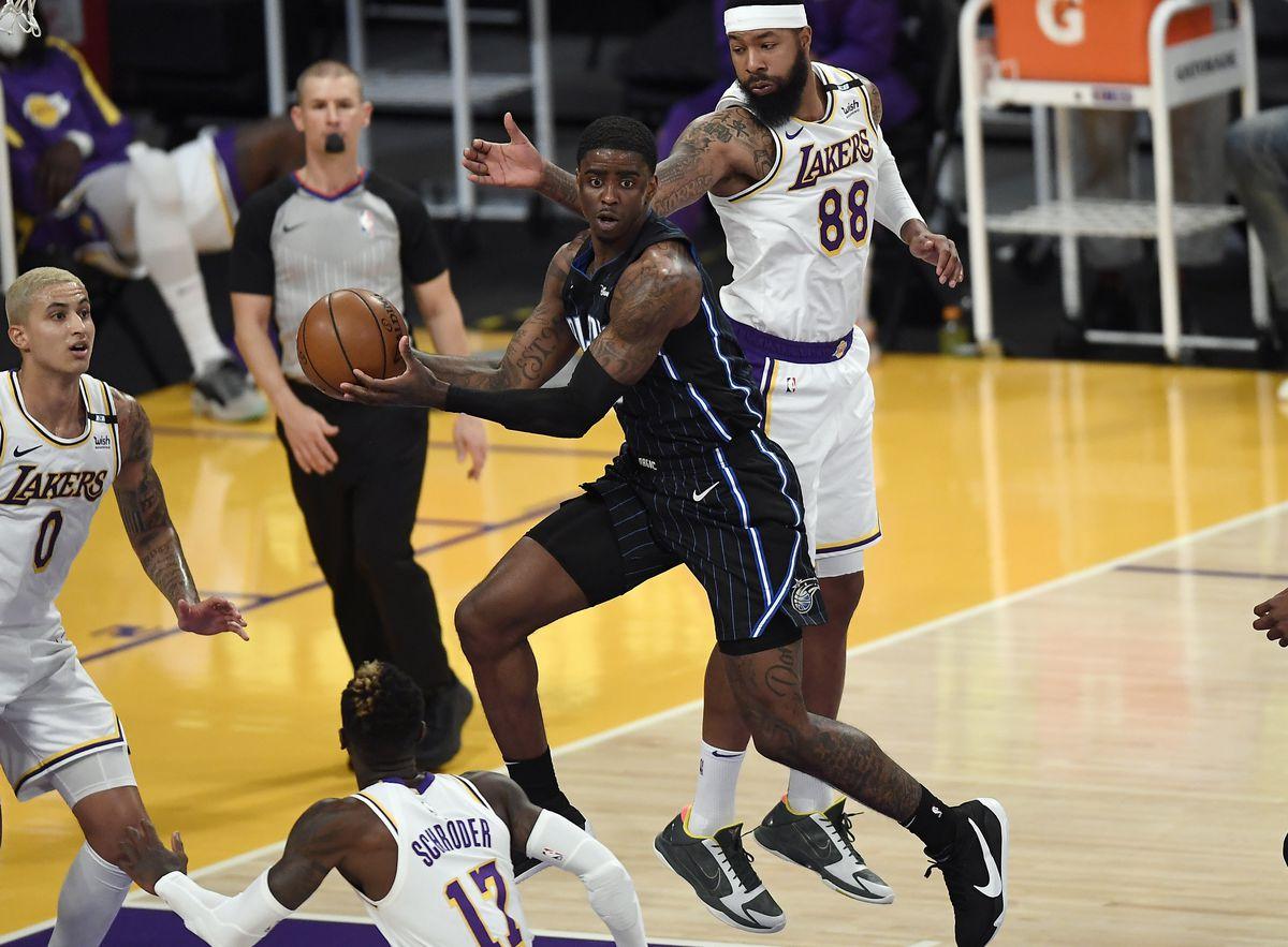 Orlando Magic versus Los Angeles Lakers