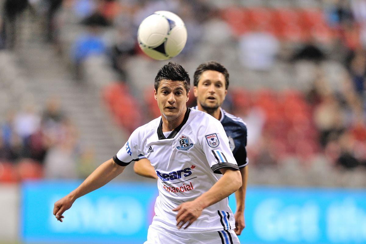 FC Edmonton v Vancouver Whitecaps