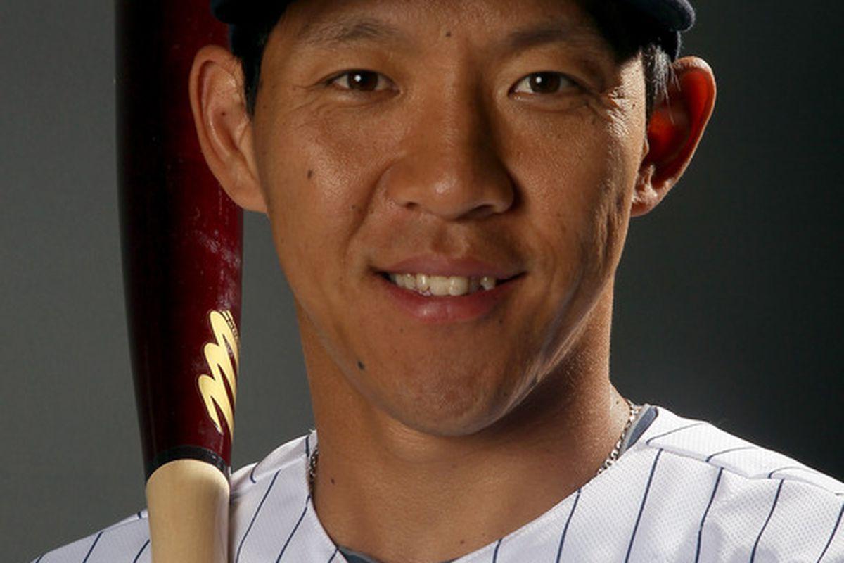 Your starting second baseman: Ray Chang.