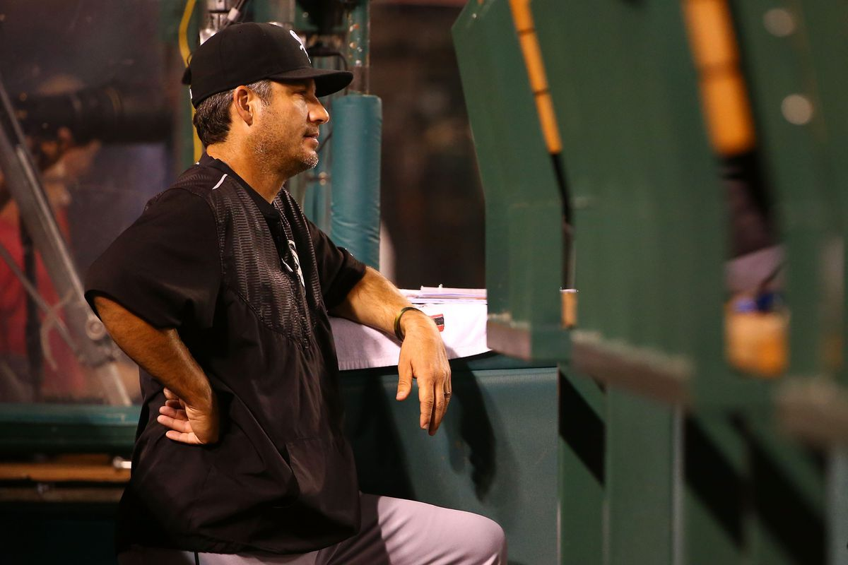 Seems like Robin Ventura isn't getting much help from his players in the leadership department.